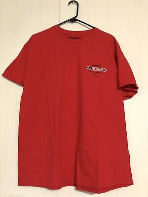 £42.41 • Buy Travis Scott Chicago Tour T Shirt Red Limited Edition Wish You Were Here Jordan