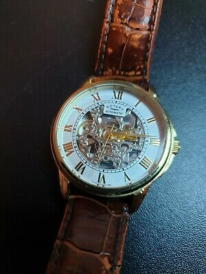 £50 • Buy Rotary Mens Automatic Skeleton Watch GS03862
