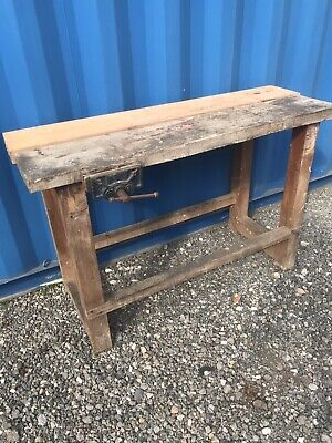 £185 • Buy Carpenters Work Bench With Chair  Kitchen Worktop FREE DELIVERY Up To 150 Miles