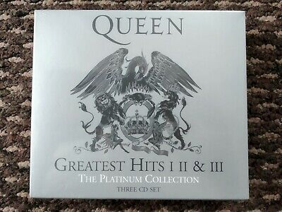 £19.99 • Buy Queen: The Platinum Collection (Greatest Hits I II & III) (3 CD) Brand New
