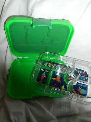 AU34.80 • Buy Green Yumbox Original Leakproof Bento Lunchbox Or Craft Container Kids, Adults