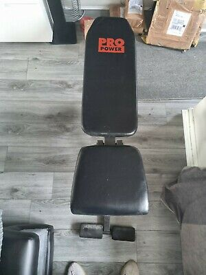 £35 • Buy Pro Power Weight Bench