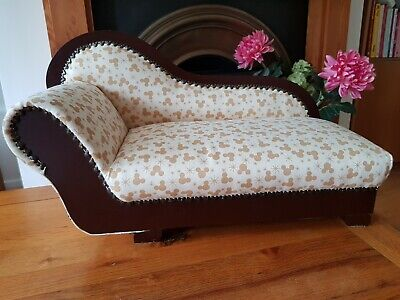 £99.99 • Buy Official Disney Mickey Mouse Upholstered Chaise Lounge Chair Authentic Rare 19