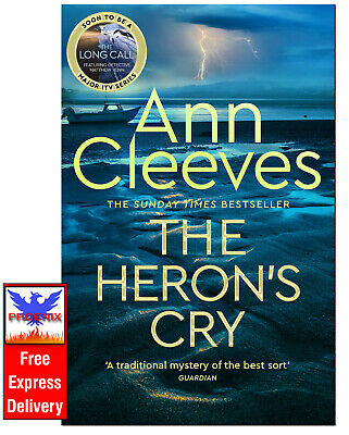 £11.80 • Buy THE HERON'S CRY Ann Cleeves HARDCOVER *BRAND NEW*