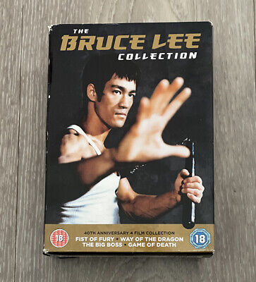 £23.99 • Buy The Bruce Lee Collection DVD Bruce Lee, Wei (DIR) 4 Discs 40th Anniversary