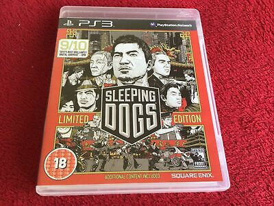 £5 • Buy Sleeping Dogs -- Limited Edition (Sony PlayStation 3, 2012),with Manual, VGC.