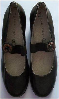 £23 • Buy New Womens Next Sole Reviver Brown Leather Wedge Shoes Size 6