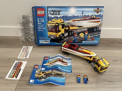 £36.58 • Buy Lego City Harbor 4643 Power Boat Transporter 100% Complete W/ Box & Instructions