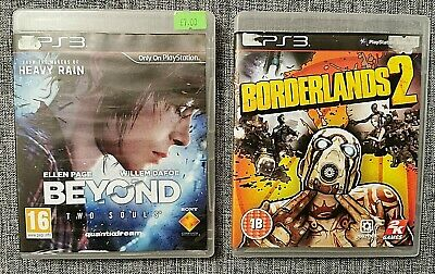 £5.40 • Buy PS3 Games Bundle - Beyond: Two Souls And Borderlands 2