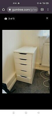 £55 • Buy May Deliver Ikea White Alex Drawers In London