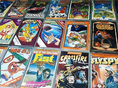 £44.99 • Buy Amstrad/schneider  CPC .464/6128 Games Lot Bundle Uncommon Great Titles 21 Games