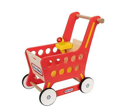 £36.99 • Buy Little Tikes Wooden Pretend Shopping Role Play Push Along Trolley