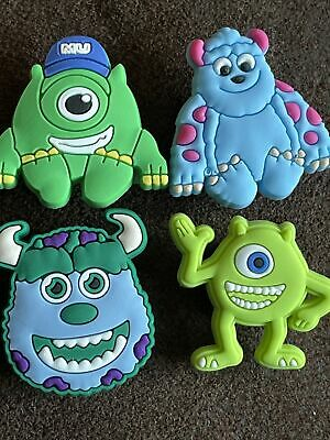 £3.50 • Buy 4 MONSTERS INC UNIVERSITY Shoe Charms Crocs Sandals Cake Decorations Sully