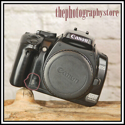 £56.95 • Buy Canon EOS 400D Digital SLR Camera + Charger Battery FEW MARKS