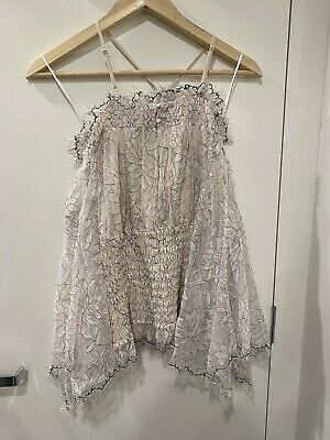 AU85 • Buy BNWT ALICE MCCALL Lotus TOP Shell SIZE 14 - RRP $260