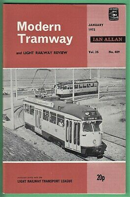 £2.95 • Buy Modern Tramway Jan 1972: Brighton Netherlands (see Scan For Full Contents)