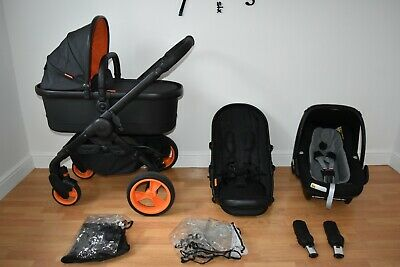 £295 • Buy Travel System 3in1 ICandy Peach  Desinger Collection  Black Edition