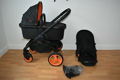 £255 • Buy Travel System 2in1 ICandy Peach  Desinger Collection  Black Edition