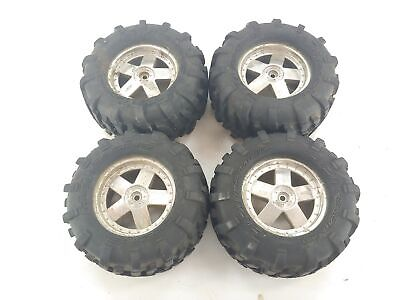 £29.09 • Buy HPI Racing Savage 1/8 Scale 3.8  Monster Truck Tires On 14mm Hex Wheels Used