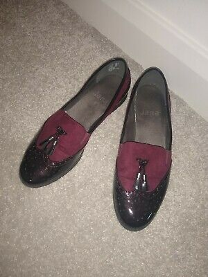 £9 • Buy Burgundy Red Jana Shoes Loafers Size 6.5