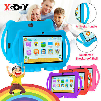 AU79.99 • Buy Xgody 7 Inch Android Tablet For Kids Quad Core 2*Cam WiFi 2+16GB ROM Bundle Case