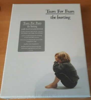 £169.95 • Buy TEARS FOR FEARS The Hurting SUPER DELUXE BOX SET 3 CD 1 DVD Brand New & Sealed