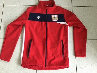 £5 • Buy Brand New Bristol City FC Red Soft Shell Jacket - Small Adult