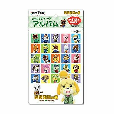 AU57.52 • Buy NEW Animal Crossing Amiibo Card Album 112 Cards Can Be Stored From JAPAN F/S