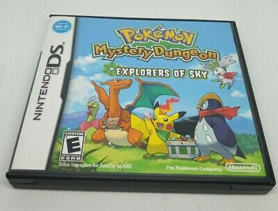 $25 • Buy CASE ONLY Pokemon Mystery Dungeon Explorers Of Sky NO GAME NO MANUAL