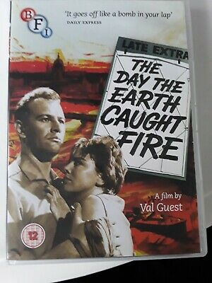 £5 • Buy The Day The Earth Caught Fire (DVD, 2014) BFI Rare Sci-fi Cult Classic