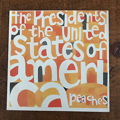 """£10 • Buy The Presidents Of The United States Of America Peaches Ltd Peach Colour 7"""" Vinyl"""