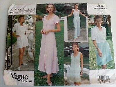 £4.99 • Buy VOGUE 1118 SEWING PATTERN BY PERRY ELLIS - Multiple / 7 Items - NEW & UNCUT