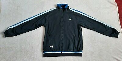 £16 • Buy Lacoste Andy Roddick Men's Track Jacket Size 3 Mens Tracksuit Top S Small Zipped