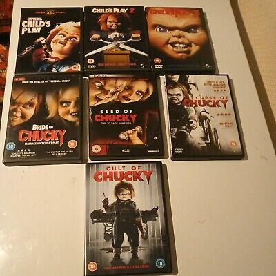 £29 • Buy Child's Play/Chucky 7 Disc Movie Collection - DVD Region 2