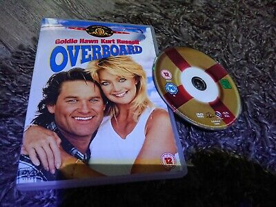 £3.25 • Buy Overboard (DVD, 2001) MGM, Kurt Russell, Goldie Hawn
