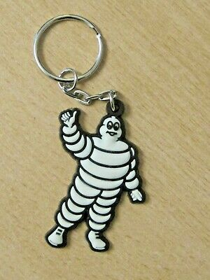 £3 • Buy Vintage Michelin Man (Rubber)Key Ring  New In Packet Opened For Photo Circa 1980