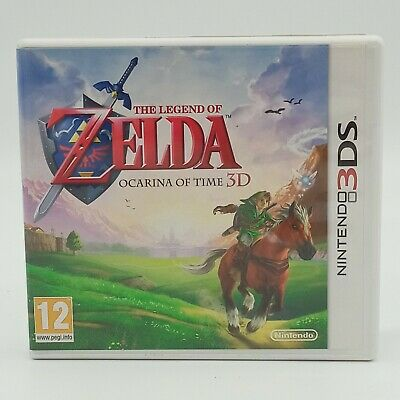 AU50 • Buy The Legend Of Zelda: Ocarina Of Time 3D With Case & Manual (Nintendo 3DS, 2011)
