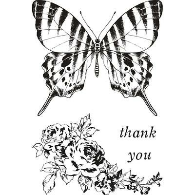 £4.99 • Buy PEN & INK (BUTTERFLY) - Clear Stamp Set - Kaisercraft