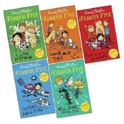 £17.80 • Buy Famous Five Colour Readers 5 Book Collection Set Enid Blyton Brand NEW