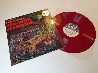 £11.99 • Buy More Death & Horror - Sound Effects No. 21 - BBC - REC340 - Blood Red Vinyl
