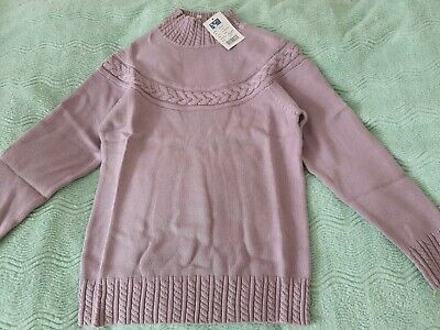 £4.99 • Buy Penny Plain Women's Mairi Cable Sweater. Size S