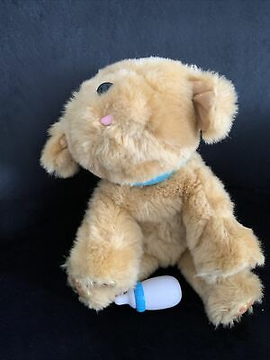 """£7.50 • Buy Little Live Pets Snuggle Puppy /dog Electronic Interactive Pet With Bottle 12"""""""