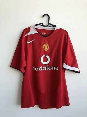 £15.50 • Buy MANCHESTER UNITED 2002/2004 HOME SHIRT JERSEY TOP #10 V. NISTELROOY HOLLAND L
