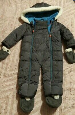 £20 • Buy Lovely Ted Baker Baby Boys Snow Suit 9-12m