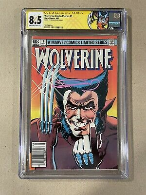 £257.81 • Buy Wolverine #1 CGC Signature Series 8.5 (Newstand; 1982) Signed By Frank Miller