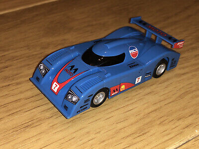 £14.99 • Buy Micro Scalextric Hornby Slot Car Blue Le Mans Style Tested Working Rare