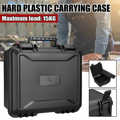 £39.95 • Buy Outdoor Sealed Safety Tool Box Waterproof ABS Plastic Equipment Instrument Case
