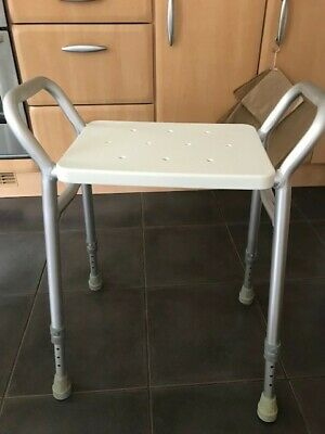£2.99 • Buy Perching Stool. Adjustable Height. Ideal For Use In The Shower.