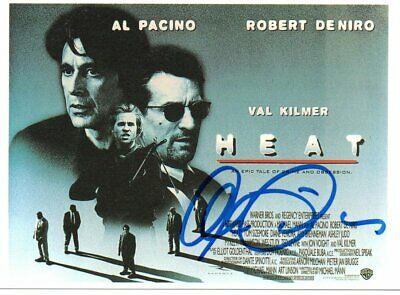 £16.69 • Buy Al Pacino : Genuinely Signed Col 6  X 4  Promo Card For The 1995 Film 'Heat'.