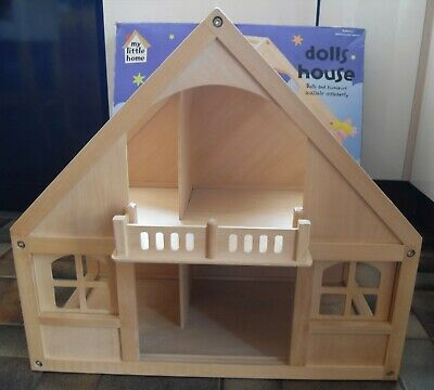 £45 • Buy ELC  My Little Home  Wooden Dolls House